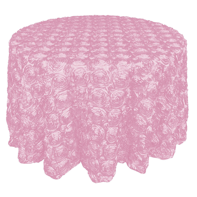 Light Pink Rosette Linens
