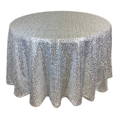 Platinum Sequin Linens