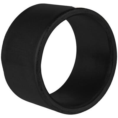 Black Smooth Napkin Ring