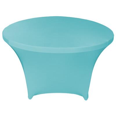 Pool Blue Spandex Linens