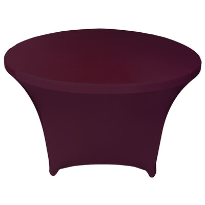 Burgundy Spandex Linens