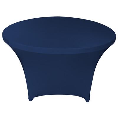 Navy Blue Spandex Linens