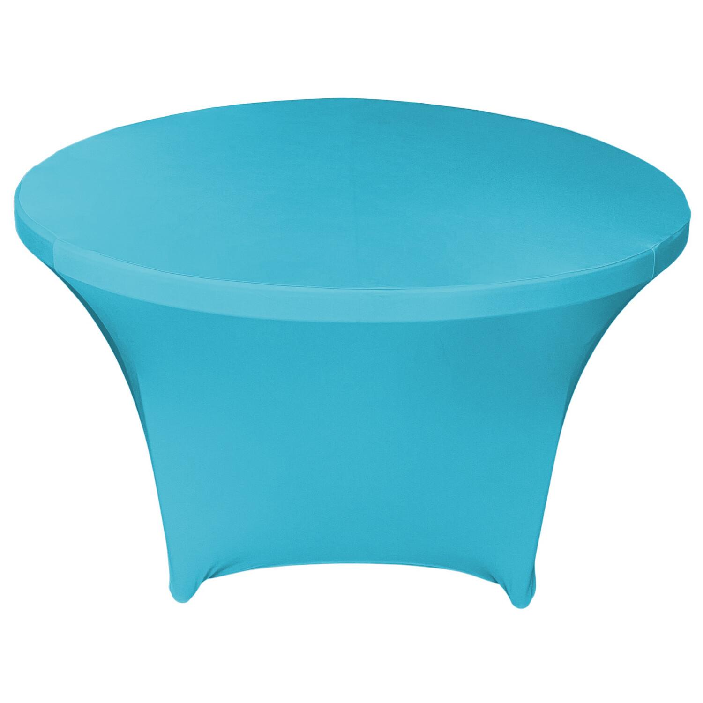 Turquoise Spandex Linens