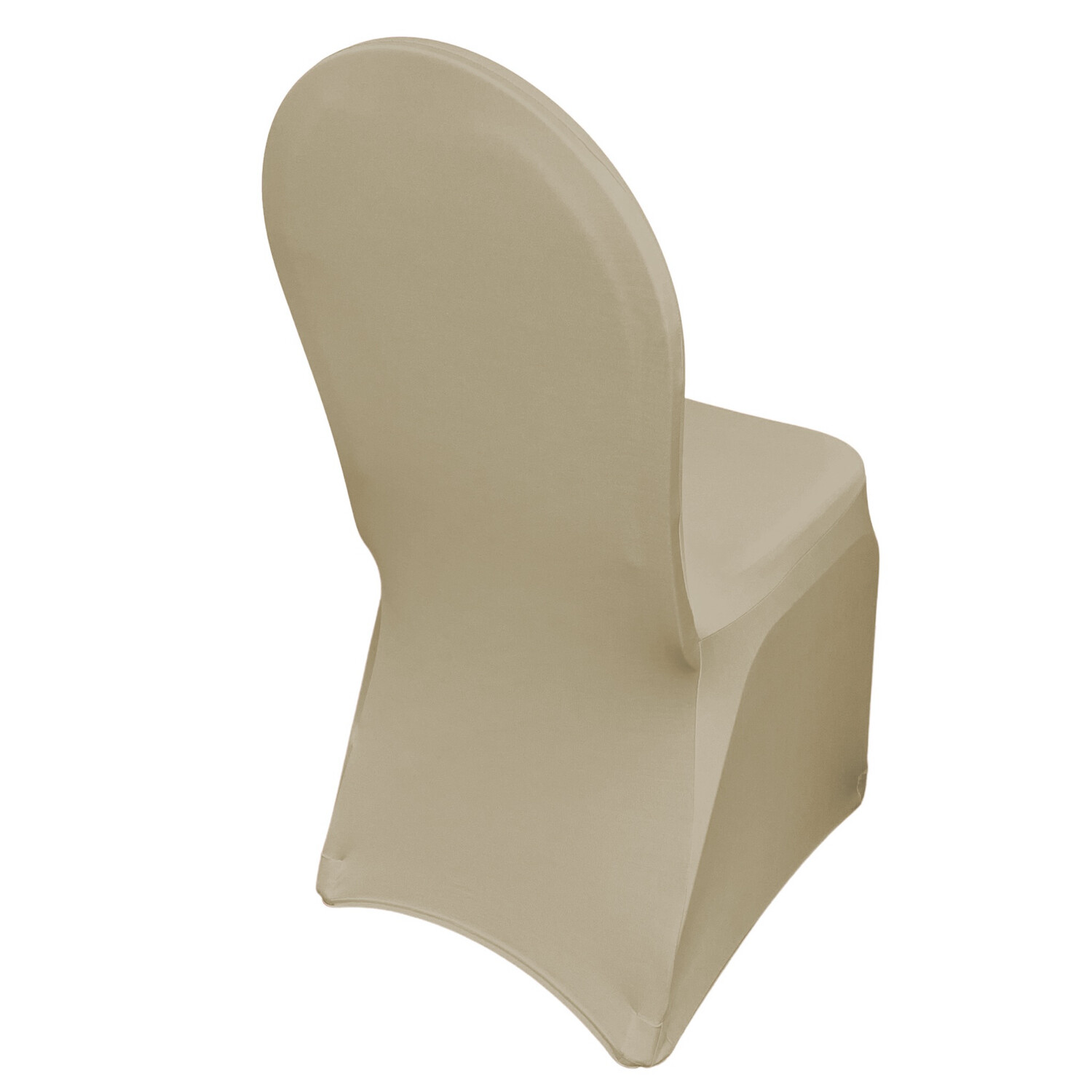Champagne Spandex Chair Covers