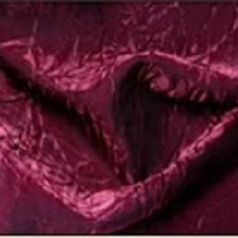 Merlot Crushed Iridescent Satin Linens