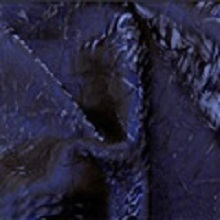 Midnight Blue Crushed Iridescent Satin Linens