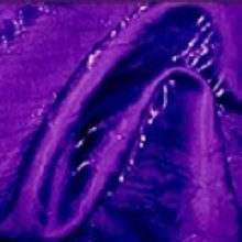 Purple Crushed Iridescent Satin Linens