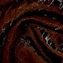 Chocolate Crushed Iridescent Satin Linens