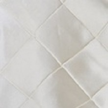 Ivory Pintuck Linens