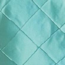 Tiffany Blue Pintuck Linens