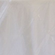 Ivory Organza Linens