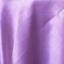 Victorian Lilac Satin Chair Sashes
