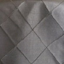 Pewter Pintuck Linens