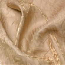 Champagne Gold Crushed Iridescent Satin Linens