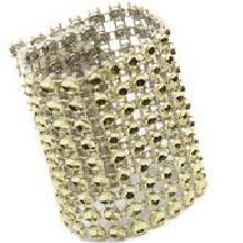Gold Rhinestone Napkin/Sash Ring