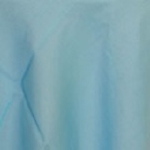 Turquoise Organza Linens