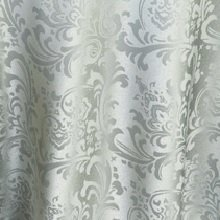 Silver on Silver Damask Linens