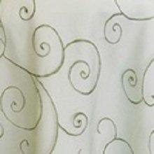 Clover Organza Swirl Linens