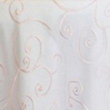 Light Pink Organza Swirl Linens
