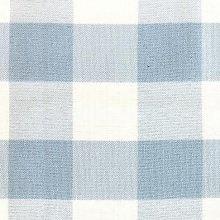 Light Blue & White Picnic Check Linens