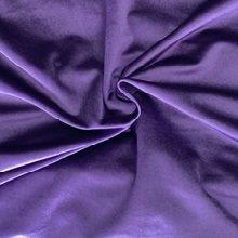 Eggplant Premium Velvet Linens