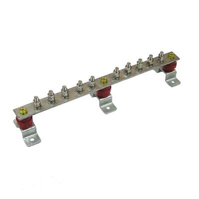 Главная заземляющая шина ГЗШЛ.06-430.390.10М8-МЛ