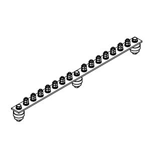 Главная заземляющая шина ГЗШ.02-430.510.14М8-М