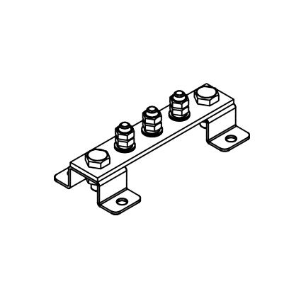 Шина заземления ГЗШ.01-430.150.3М8-ГЦ