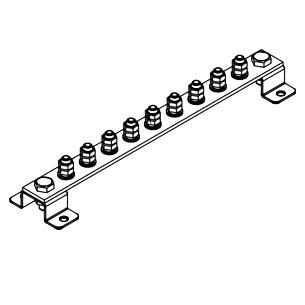 Шина заземления ГЗШ.01-430.300.8М8-ГЦ