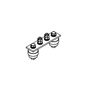 Главная заземляющая шина ГЗШ.02-430.120.2М8-ГЦ