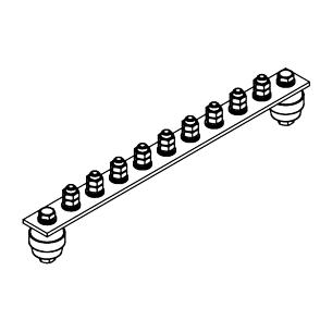 Главная заземляющая шина ГЗШ.02-430.330.9М8-ГЦ