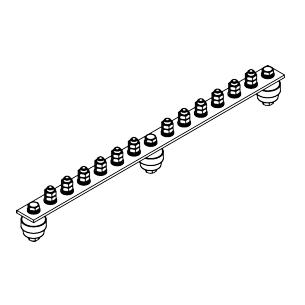 Главная заземляющая шина ГЗШ.02-430.450.12М8-ГЦ