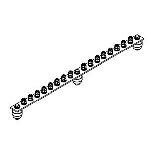 Главная заземляющая шина ГЗШ.02-430.570.16М8-ГЦ
