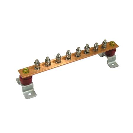 Главная заземляющая шина ГЗШЛ.06-430.300.8М8-М