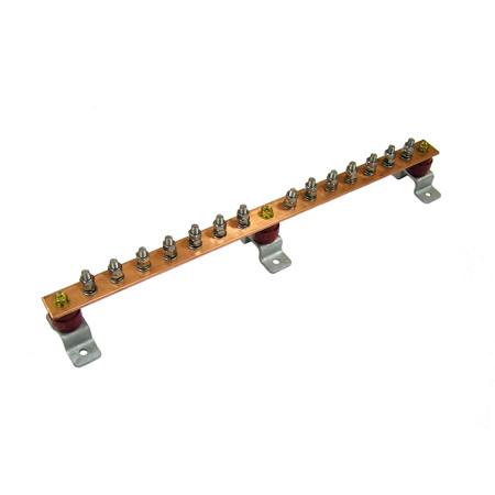 Главная заземляющая шина ГЗШЛ.06-430.510.14М8-М