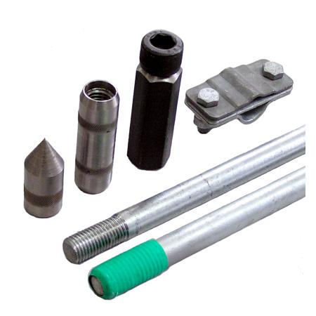 Комплект заземления из оцинкованной стали КЗЦ-6.1-01 (16), 6 м