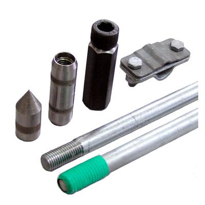 Комплект заземления из оцинкованной стали КЗЦ-6.2-01 (20) 6 м (2х3)