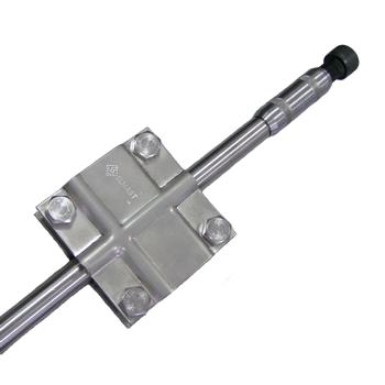 Комплект заземления из нержавеющей стали КЗН-10.2.22.102, 2x10,5 метров