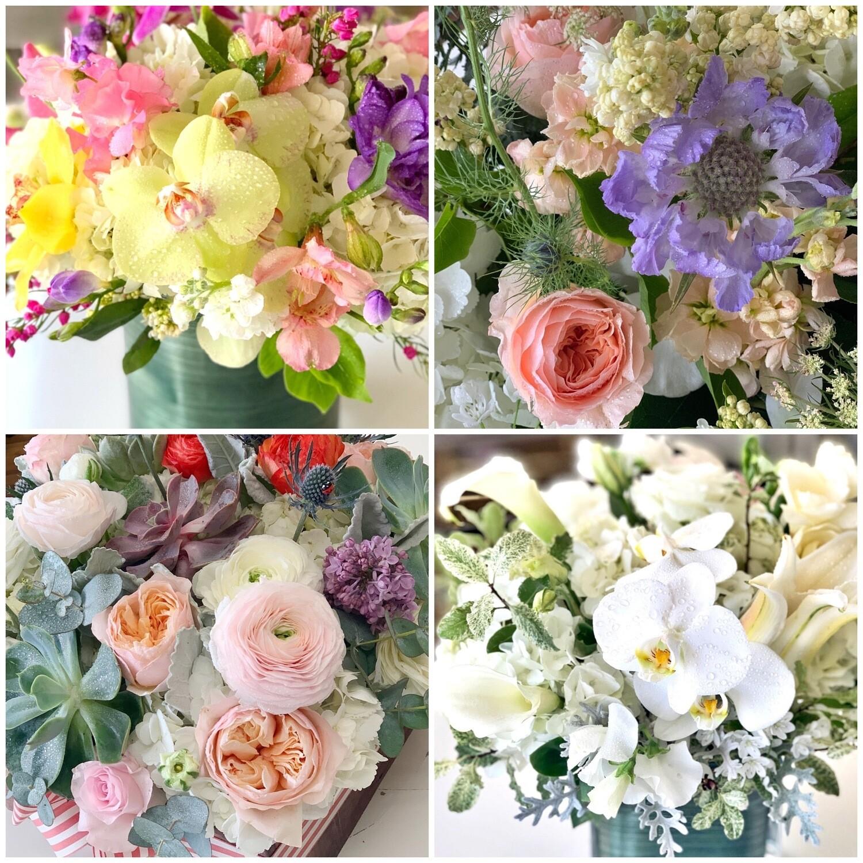Monthly flower arrangement- 12 months