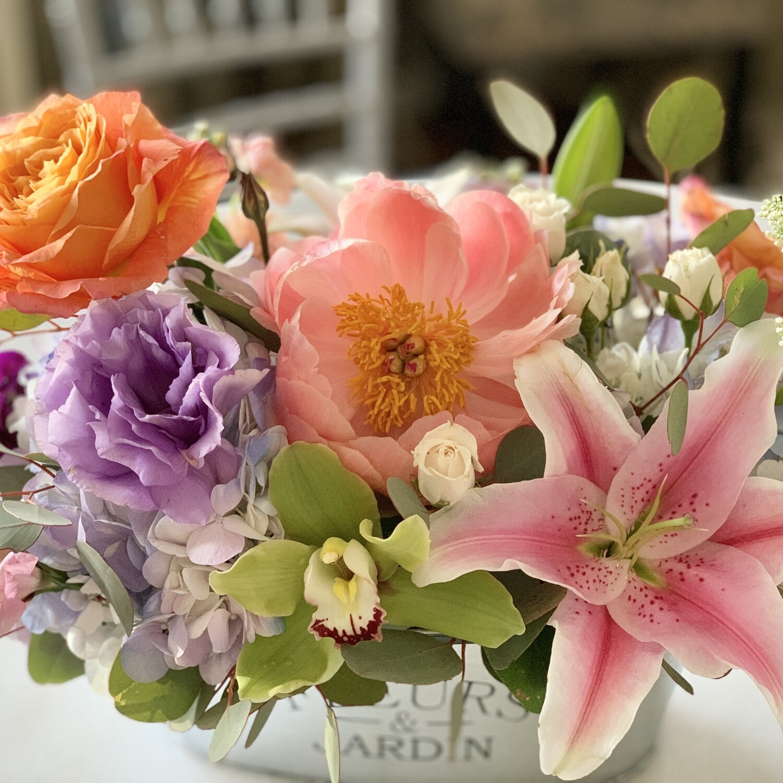 Flower Market - California Mom