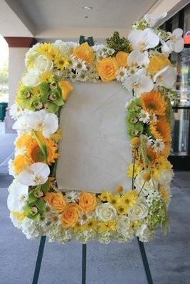 Loving Flower Picture Frame
