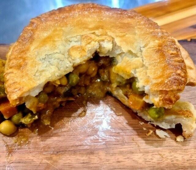 Curry Veg Pie