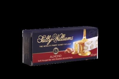Sally Williams Almond Nougat Bar 50g