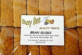 Busy Bee Bran Rusks