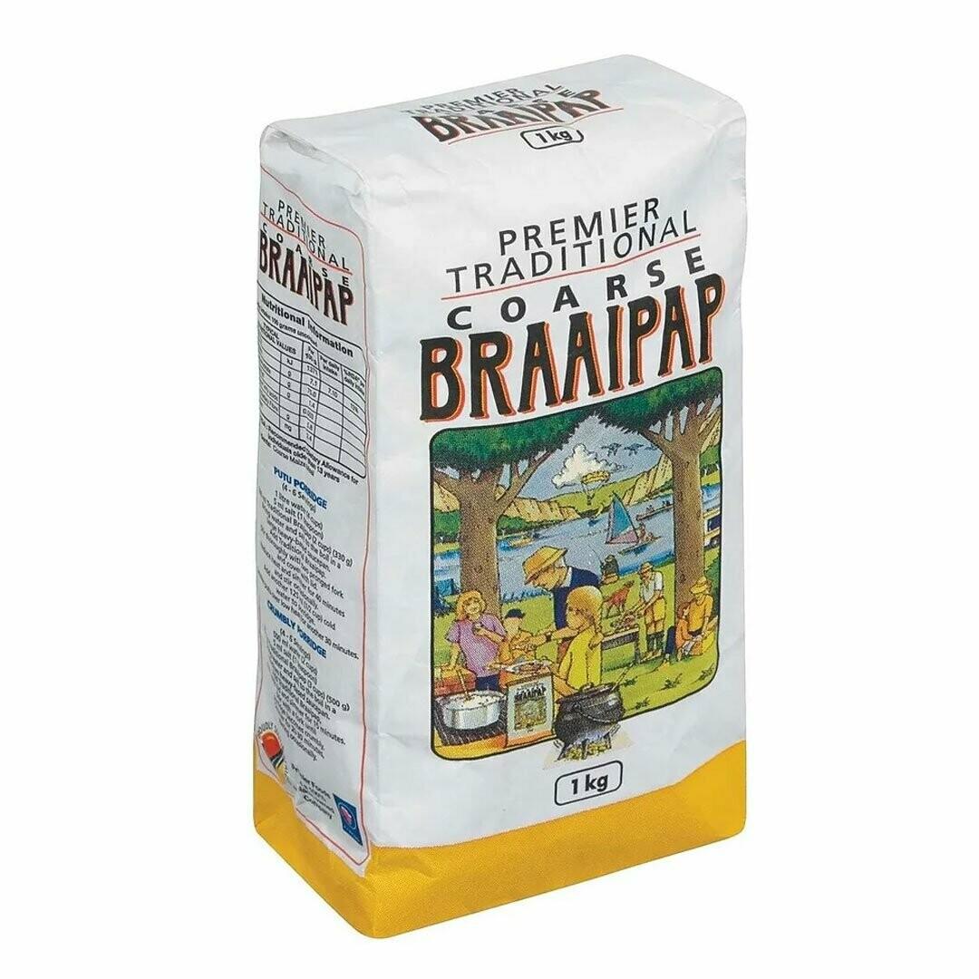 Premier Course Super Braaipap 1KG