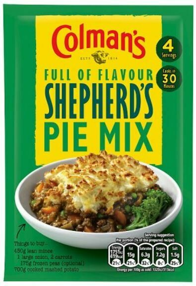 Colman's Shepherd's Pie Mix
