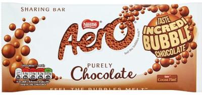 Aero Chocolate 100g Slab Sharing Block