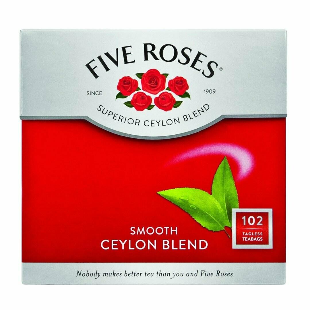 Five Roses Tea Bags 102