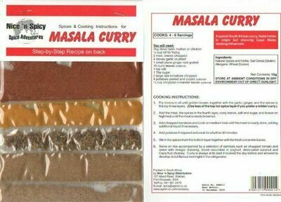 Nice and Spicy - Masala Curry