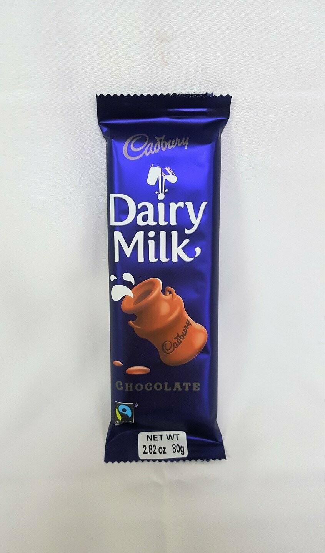 Cadbury Dairy Milk Slab 80g